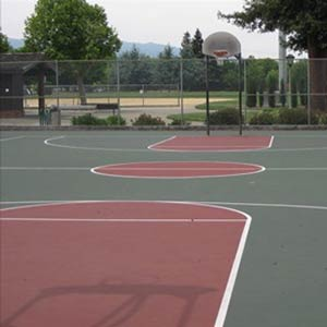 Basketball Court Repair In Austin Texas