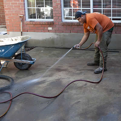 home foundation repair contractor in Austin, TX